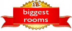Venere award for biggest rooms